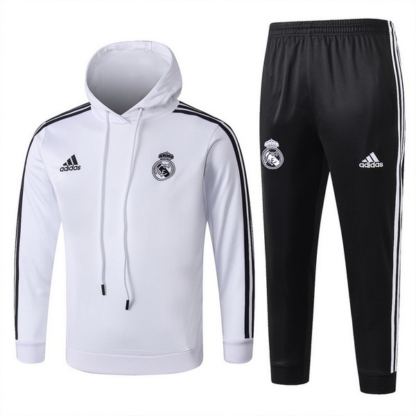 Chandal De Lana Niños Real Madrid 2018/2019 Blanco Replicas Futbol